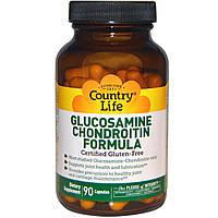 Формула глюкозамина и хондроитина (Glucosamine Chondroitin Formula) 90 капсул