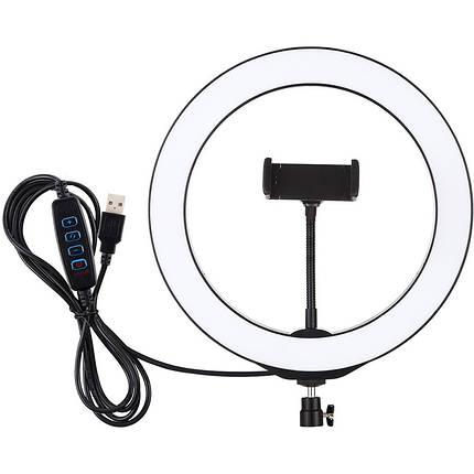 """Кольцевая USB LED лампа Puluz PU397 10.2"""", фото 2"""