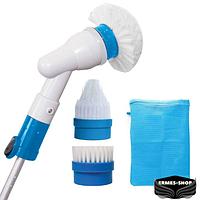 Электрическая беспроводная щетка для уборки Spin Scrubber с тремя насадками | Spin Scrubber