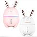 Увлажнитель воздуха и ночник 2в1 Humidifiers Rabbit белый, фото 6