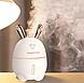 Увлажнитель воздуха и ночник 2в1 Humidifiers Rabbit белый, фото 5