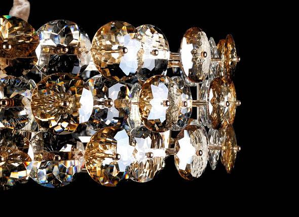 Хрустальная люстра L00147B/8/600 (FGD+CHR+W, фото 2
