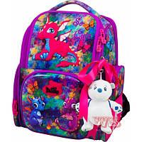 Ранець рюкзак шкільний з сумкою для взуття DeLune 11-028