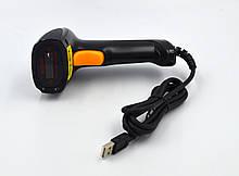 Лазерний сканер штрих-коду дротовий AsianWell AW-1035 чорний (AW-1035)