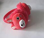 Яркие теплые детские наушники зайка, фото 3
