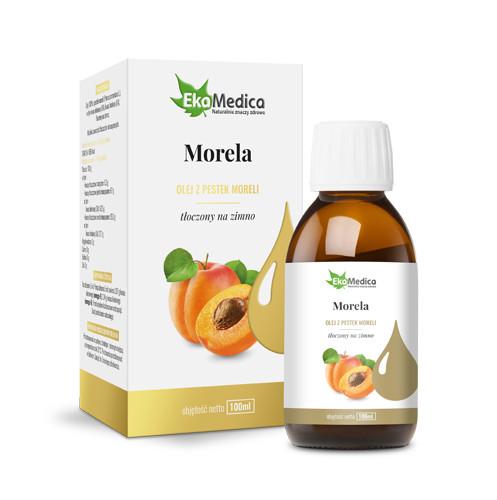 Масло абрикосовых косточек  100мл - 100%, диетическая добавка EkaMedica