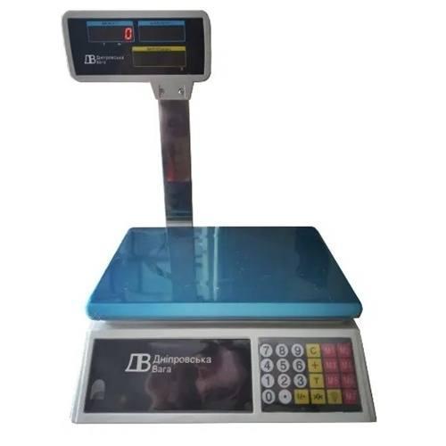Ваги торгові електронні ВТЕ-Центровес-15Т2ДВ-Е-Н (15 кг)