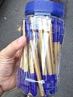 Ручкa масляная AIBO синяя (50шт)