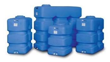 Пластиковые баки ELBI для надземного монтажа серия CP