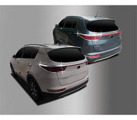 Накладки на задние фонари Kia Sportage 2015- хром  Autoclover AC D835