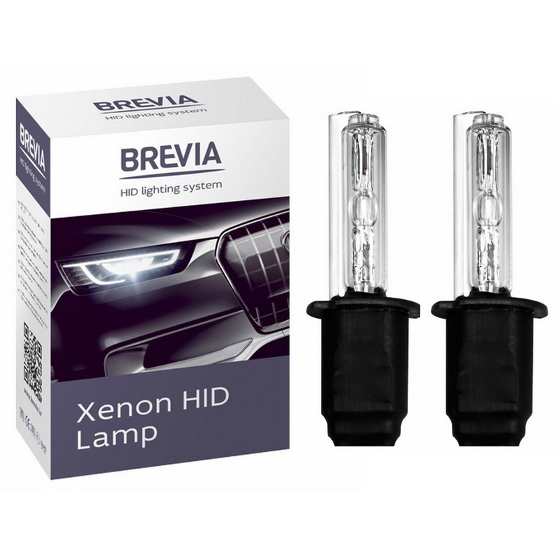 Ксеноновые лампы H3 Brevia 5000K