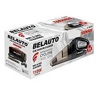 Автомобильный пылесос Belauto Торнадо 12в 110Вт с пылесборником 300 мл Черный (BA-53B)