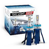 Светодиодные лампы H11 Led для авто 6000K 6500Lm ZES Carlamp Day Light GEN2 (DLGH11)