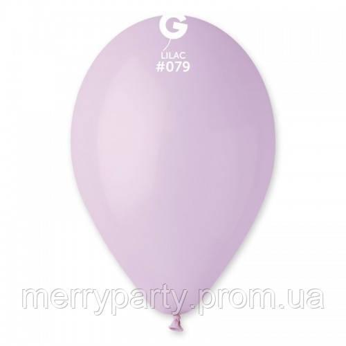 """12"""" (30 см) пастель светло-сиреневый Gemar Италия G-79 латексный шар"""