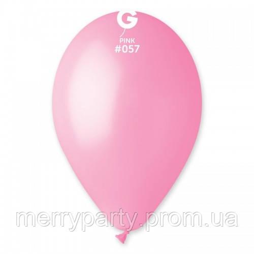 """12"""" (30 см) пастель светло-розовый Gemar Италия G-57 латексный шар"""