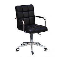 Кресло для мастера, офиса Augusto ARM MOD ЭКО, черный