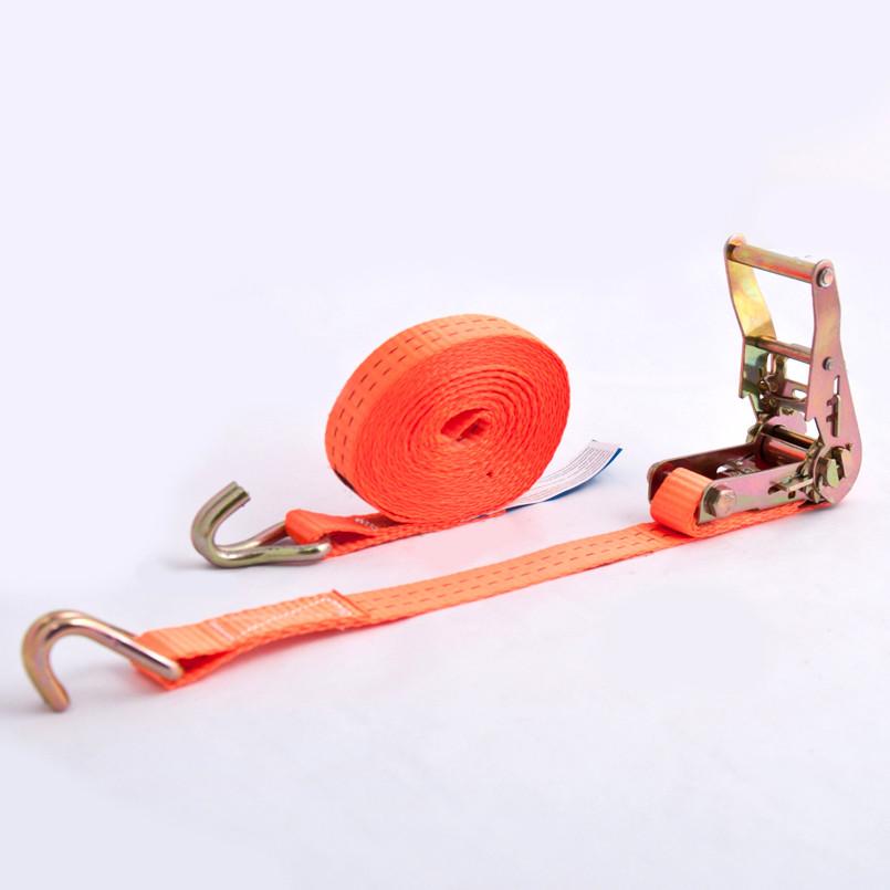 Стяжной ремень для крепления груза с храповым механизмом BELAUTO 1,5т 7м (BC15-7)