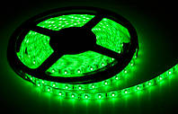 Светодиодная лента SMD 3528 60 шт/м. Зеленная, без силикона (цена за 5 метров)