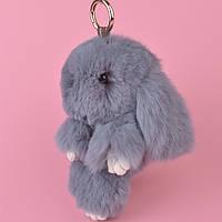 Меховой брелок Кролик 20см