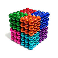 Нео куб Neo Cube цветной 5мм Магнитный конструктор