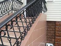 Кованые перила лестницы-02