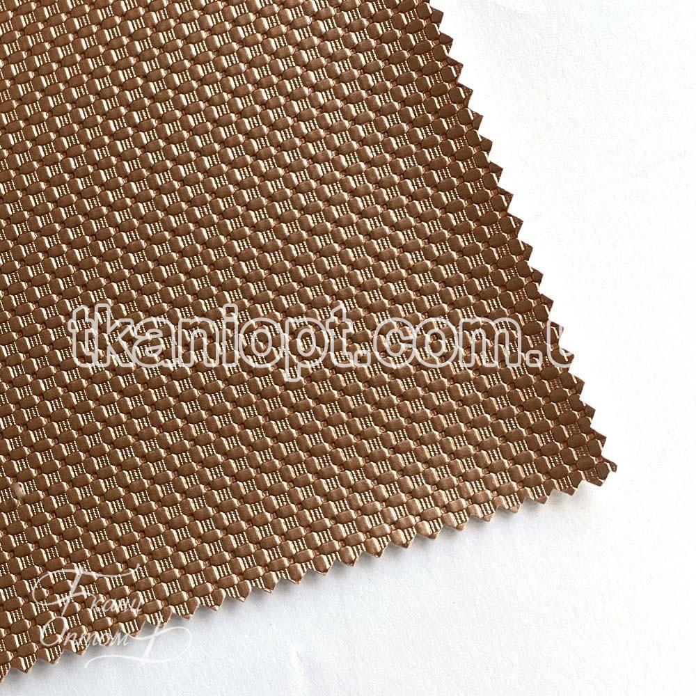 Ткань Кожзам плотный zeugma (золотая роза)