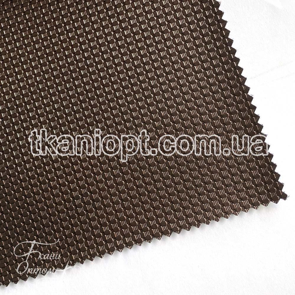 Ткань Кожзам плотный zeugma (шоколад)