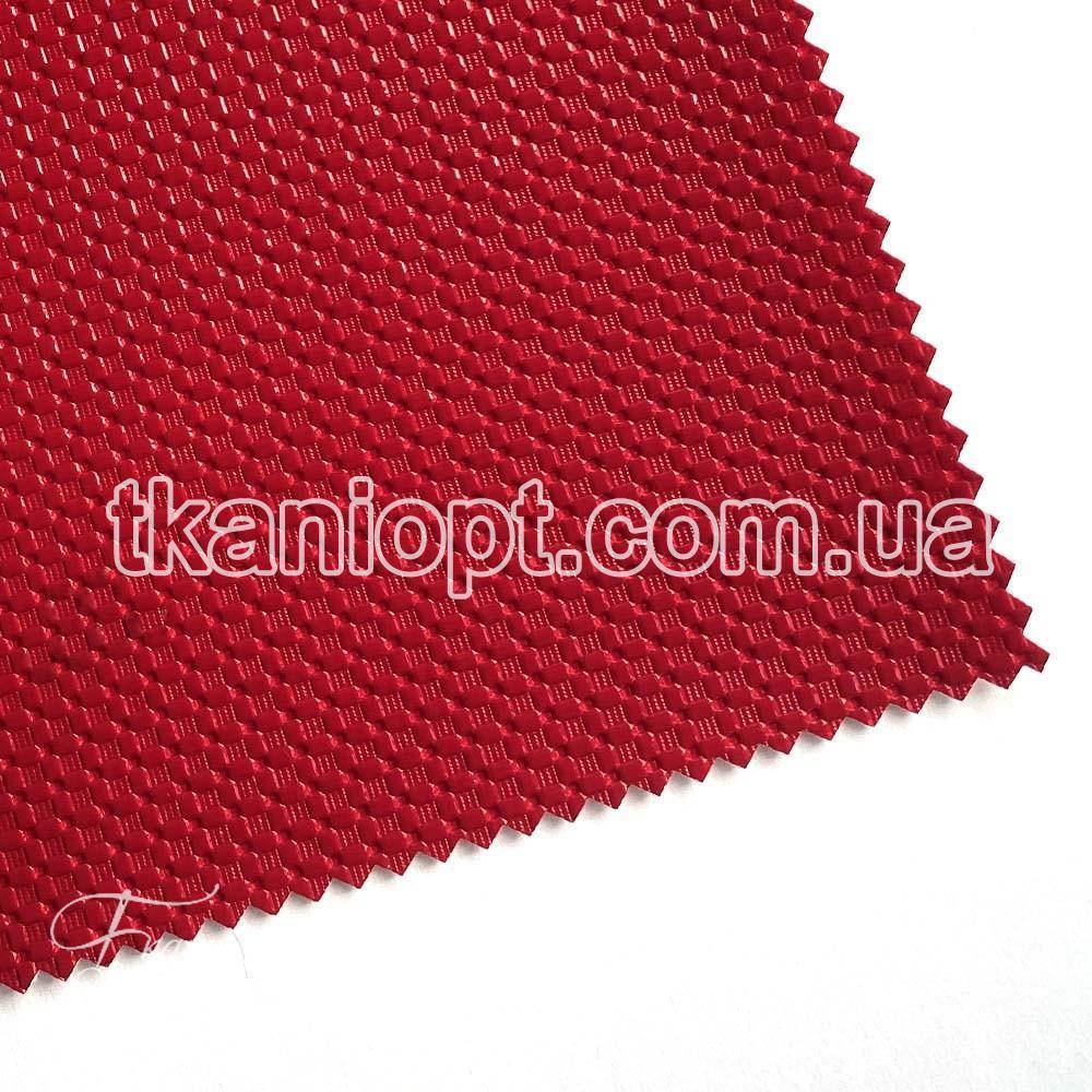 Ткань Кожзам плотный zeugma (красный)
