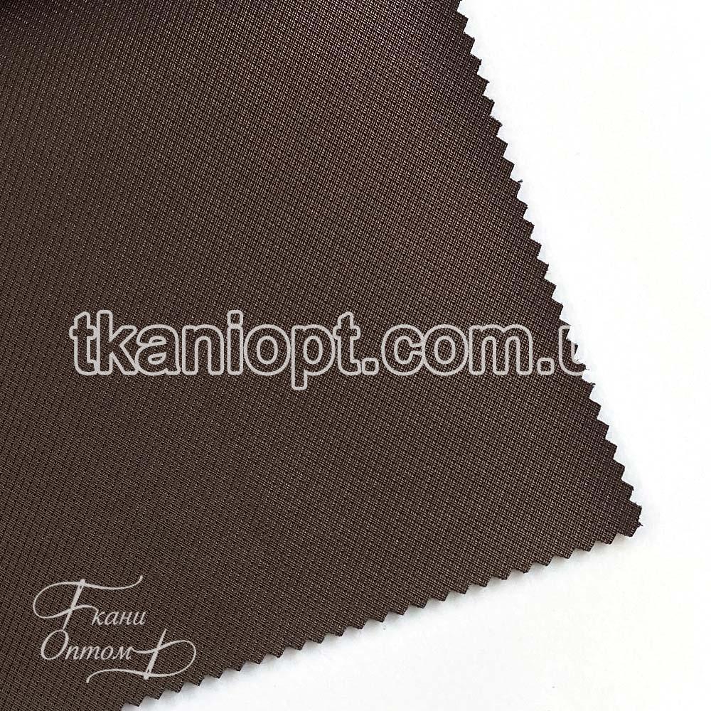Ткань Кожзам плотный diamond (коричневый)