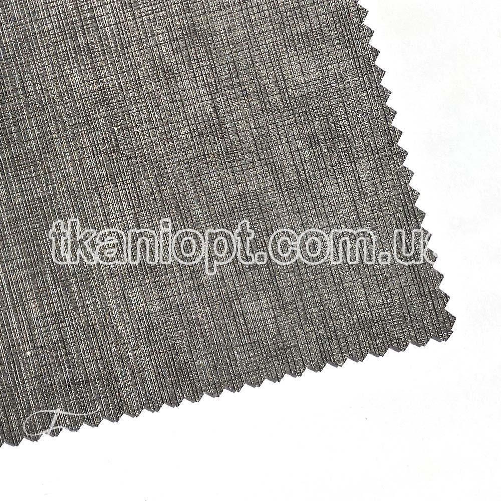Ткань Кожзам плотный mandarin (мокрый асфальт)