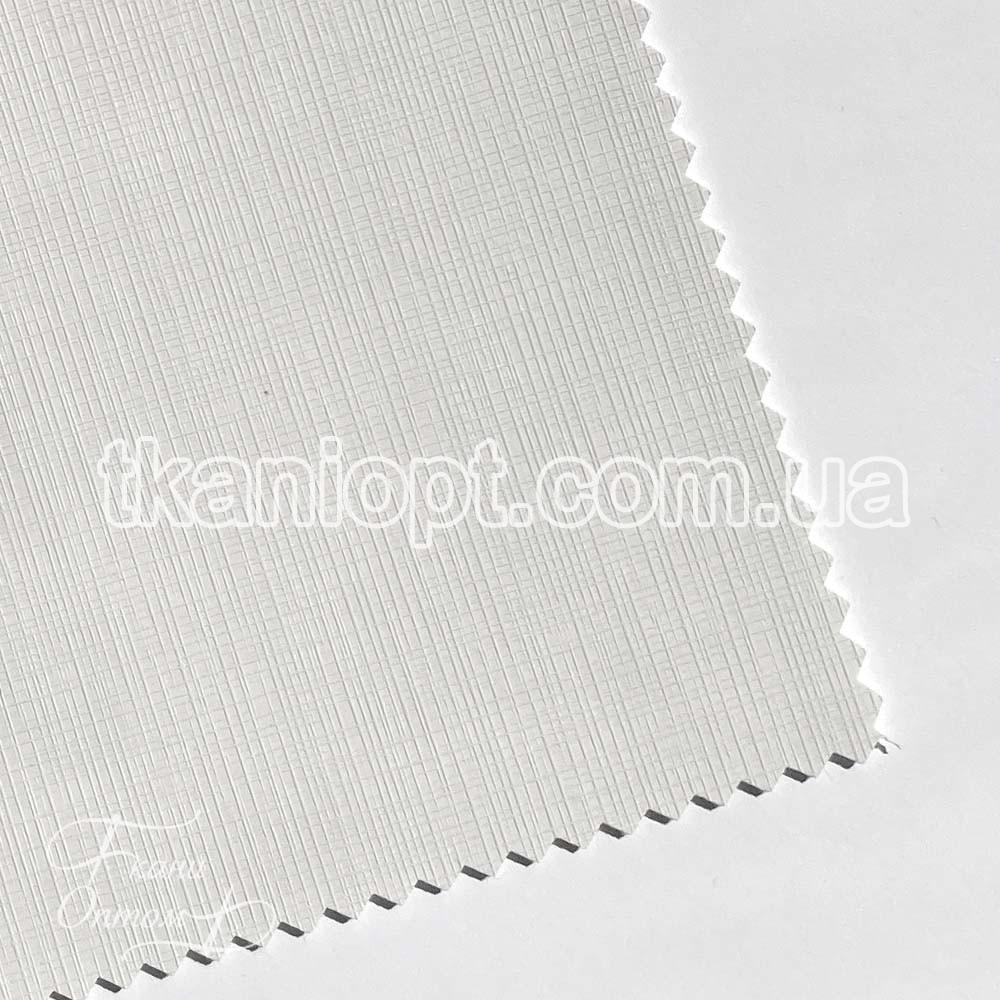 Ткань Кожзам плотный mandarin (белый)