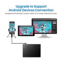 Графический планшет Huion Inspiroy H430P + перчатка ОРИГИНАЛ!