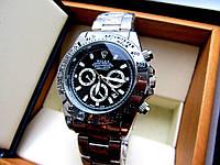 Мужские наручные часы Rolex Daytona серебро, часы физрука