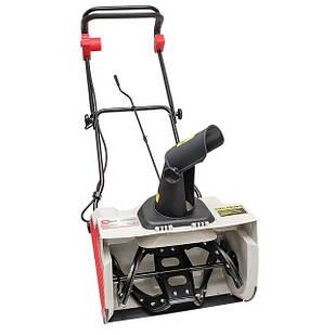 Снегоуборщик электрический, 1.6 кВт, рабочая ширина 500 мм, с регулировкой направления выброса снега INTERTOOL SN-1600
