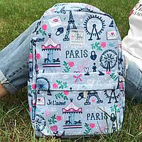 Рюкзак молодежный женский Paris, фото 1