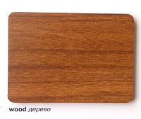 Алюминиевая композитная панель Ecobond 6100, Алюминий, Однотонная, Краска, Лист, дерево, 1220