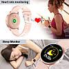 Смарт-часы KingWear KW19 c измерением давления и фитнес трекером (Pink), фото 3