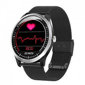 Умные часы Lemfo N58 Metal с измерением давления и ЭКГ