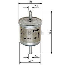Фильтр топливный AVEO | Bosch, фото 3