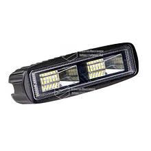 Светодиодная фара LED (ЛЕД) прямоугольная 20W (20 диодов) | VTR