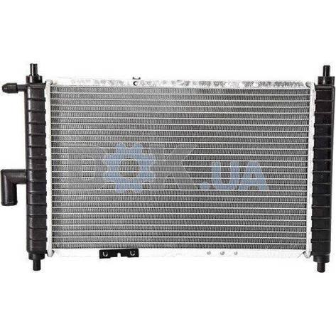 Радиатор охлаждения двигателя DAEWOO Matiz 98- | NRF, фото 2