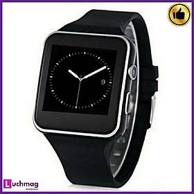 Розумні годинник, смарт годинник X6 Black