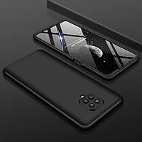 Чохол GKK 360 для Xiaomi Redmi Note 9 Pro Max бампер оригінальний Black