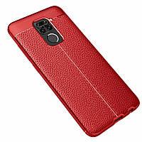 Чохол Touch для Xiaomi Redmi Note 9 протиударний бампер Red