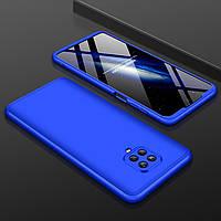 Чохол GKK 360 для Xiaomi Redmi Note 9 Pro бампер оригінальний Blue