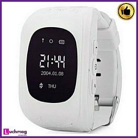Умные Детские часы Q50 White с GPS