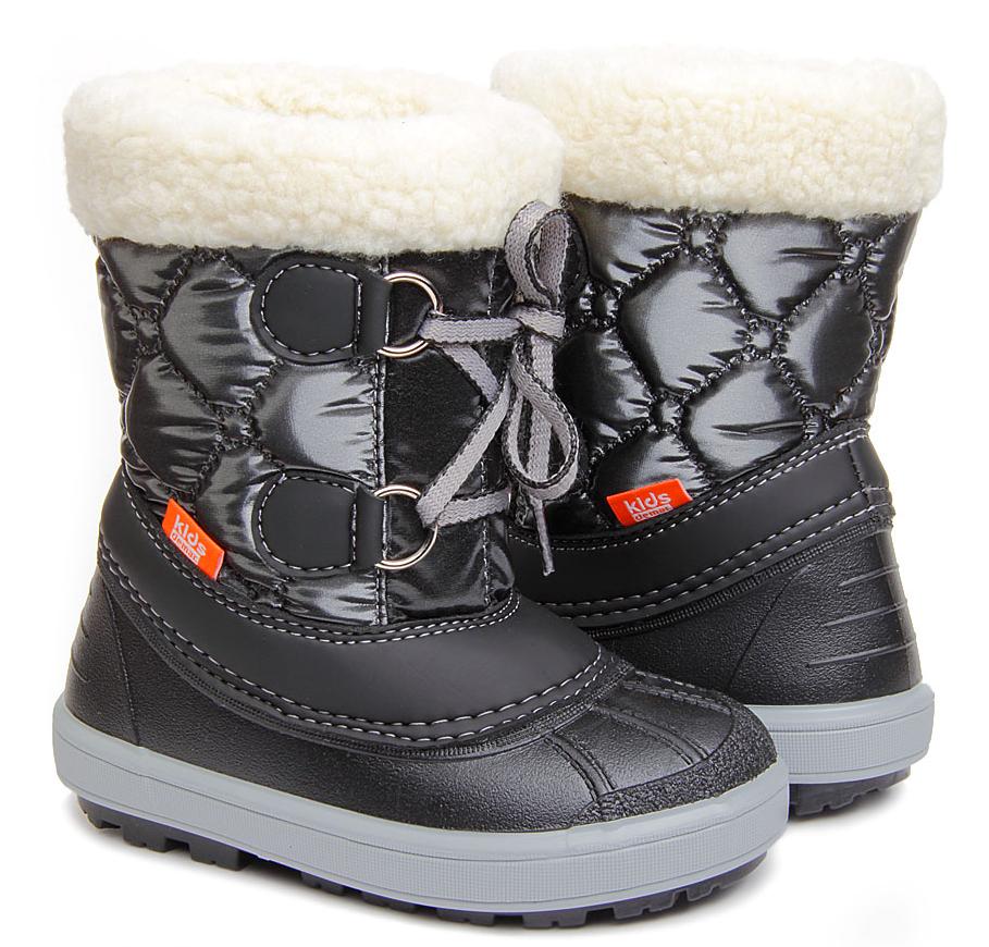 Зимові чоботи Demar Fuzzy чорні   продажа 94040243b83e5