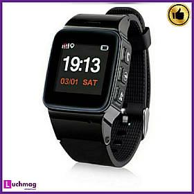 Смарт годинник, розумні годинник D99 Black з GPS
