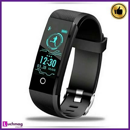Розумні смарт годинник, фітнес браслет Smart RevolutionBand 2020 Black, фото 2