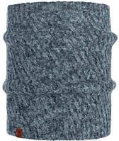 Шарф многофункциональный Buff Knitted Neckwarmer Comfort Karel, Graphite (BU 117882.901.10.00)